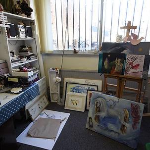 Vicky's studio
