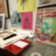 Sue's studio