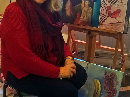 Inside Artsite Studios - Vicky Silver