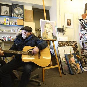 Martin in Studio