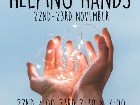 Coming soon to the Post Modern: Helping Hands 22/23rd November