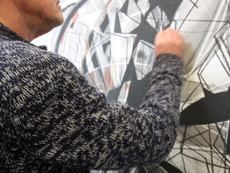Inside Artsite Studios - Paul Exton