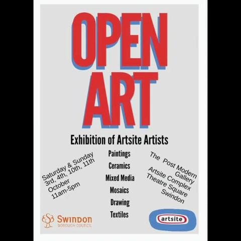Open Art Walk Through