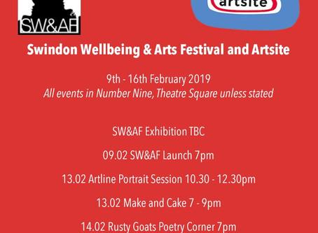Swindon Wellbeing & Arts Festival and Artsite