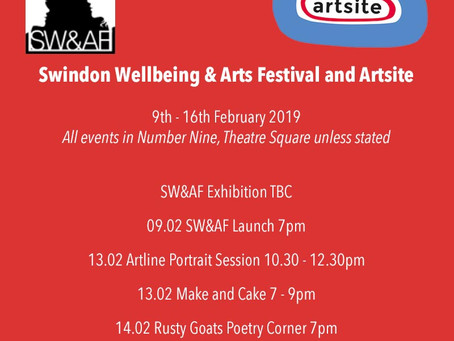 Swindon Wellbeing & Arts Festival and Artsite
