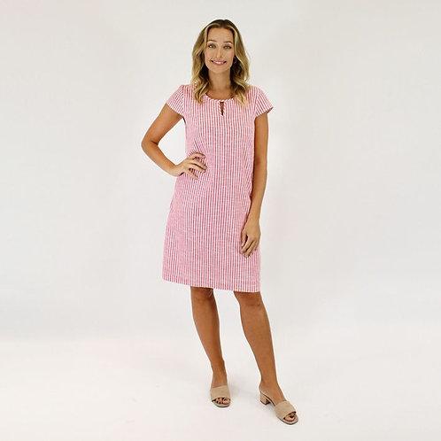 Jendi Stripe Dress / Pink