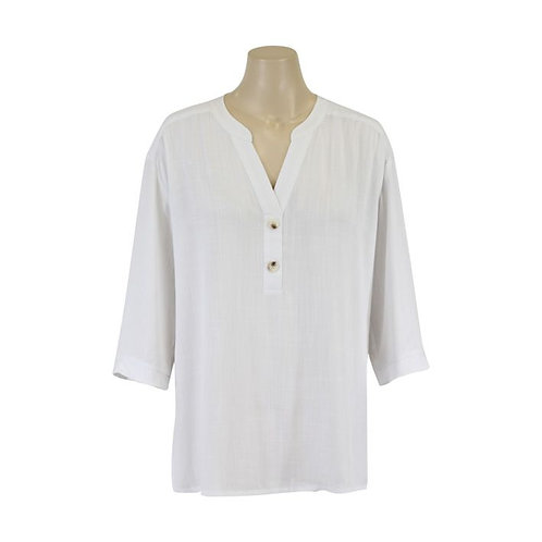 Jendi Cloud Shirt / White