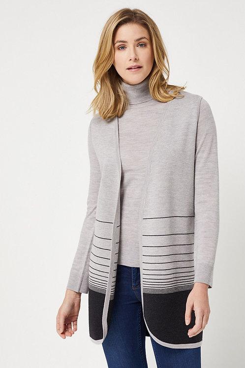 Toorallie / Shell Merino Vest /Grey Marl