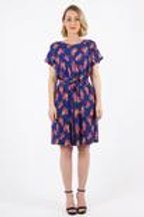 Maiocchi Fashionably Late Dress / Japanese Print