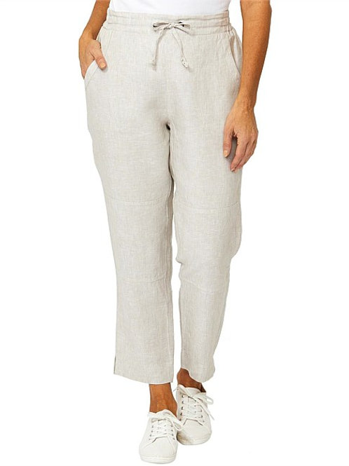 Ping Pong Linen Pant / Oyster