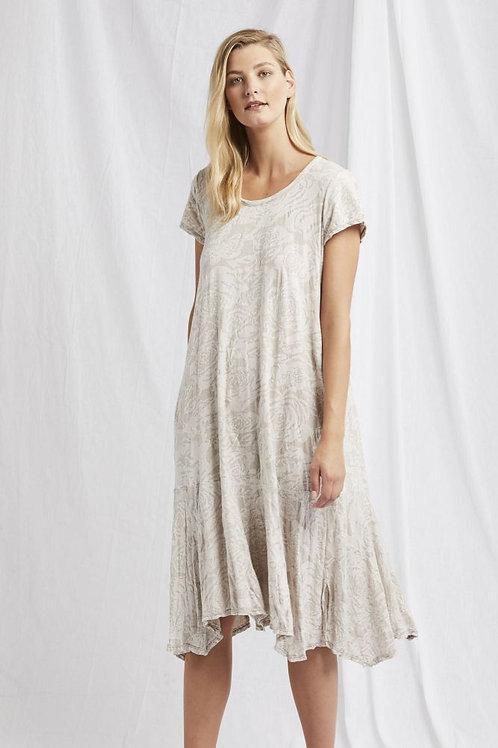 Valia Renoir Dress / Egret