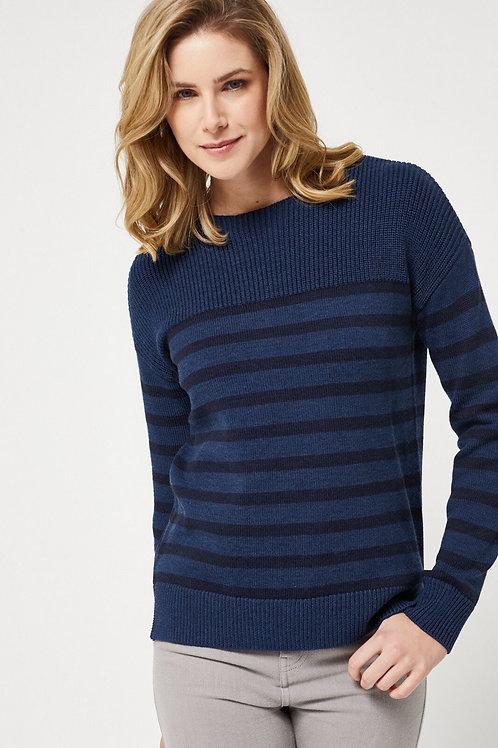 Toorallie / Bowral Sweater / Deep Cobalt