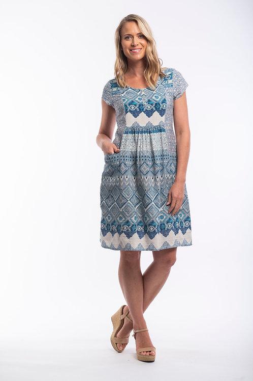 Orientique Leon Dress with Sleeve