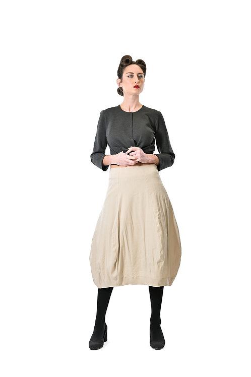 Megan Salmon / Somersault Tulip Skirt / Stone