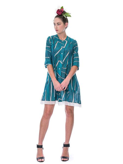Megan Salmon Landlines Giselle Coat