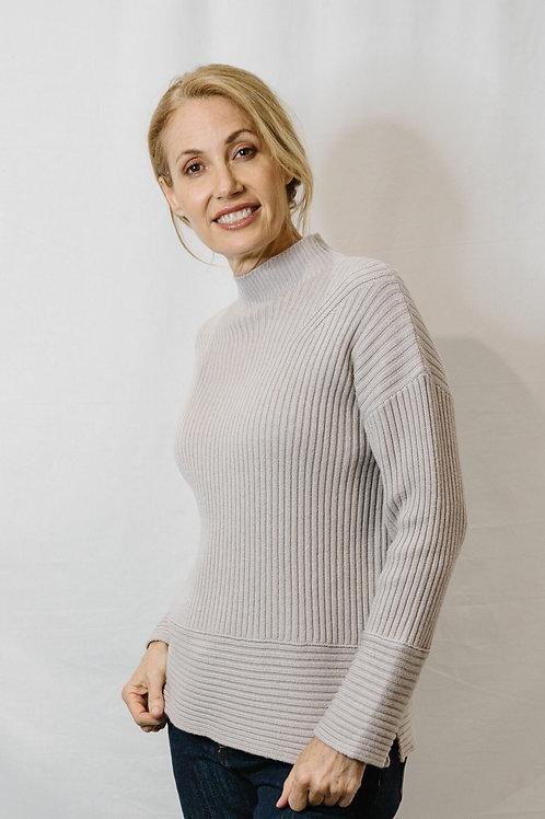 Goondiwindi Cotton / Turtle Neck Sweater / Cobweb