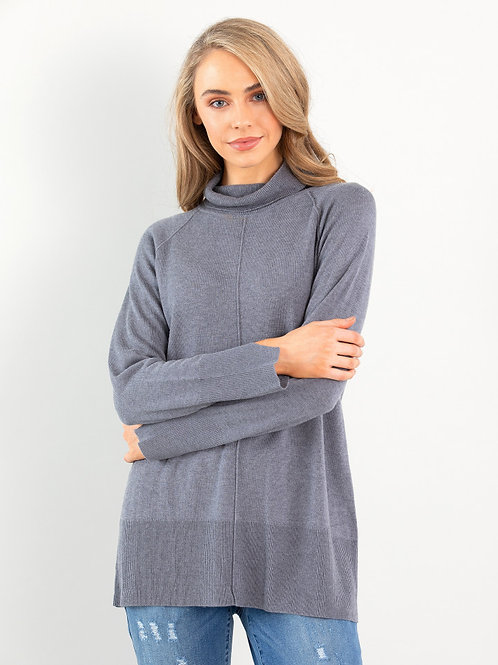 Marco Polo / Relaxed Sweater / Grey
