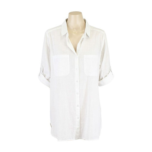 Resort Shirt / White