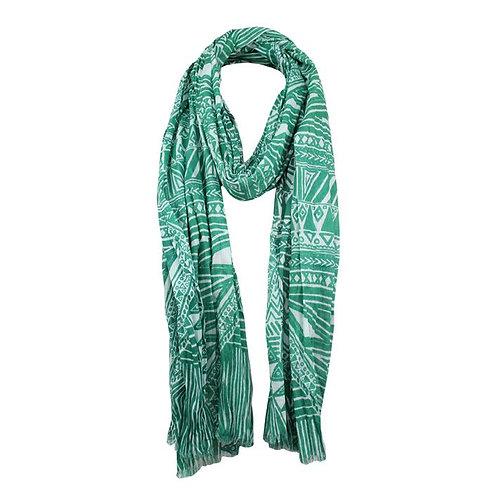 Jendi Egypt Scarf / Emerald Green