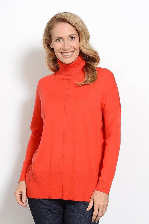 Goondiwindi Cotton / Relaxed Turtle Neck Knit Jumper