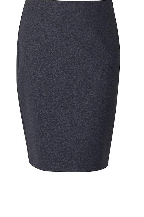 Vassalli / Lined Mid Length A-Line Ponti Skirt