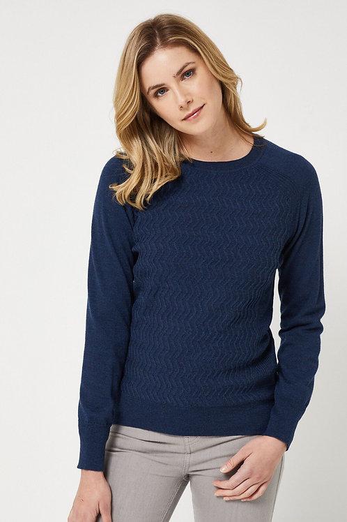 Toorallie / Eden Merino Sweater / Midnight