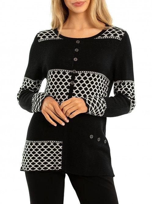 Marco Polo Splice Knit Sweater