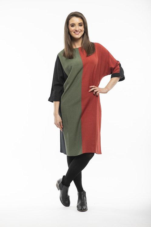 Orientique Essential Linen Panel Dress