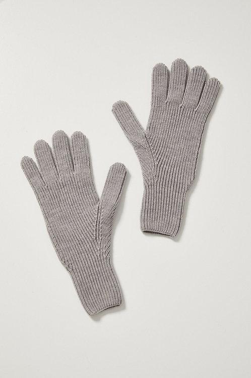 Toorallie / Merino Gloves / Marl Grey