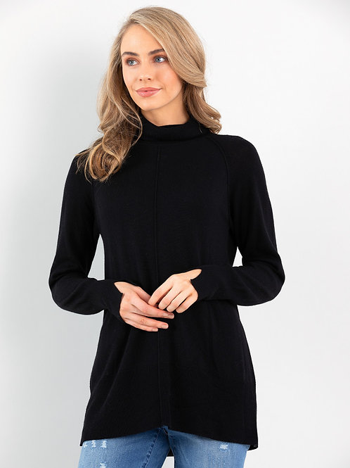 Marco Polo Relaxed Sweater / Black