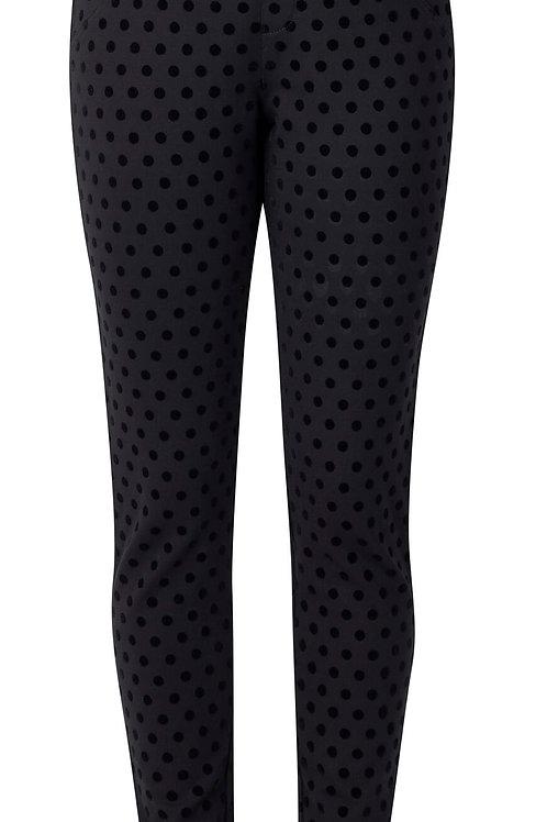 Vassalli / Ankle Grazer Pull on Pant / Dots