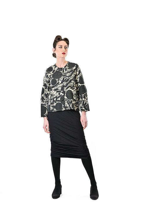Megan Salmon / Smudge Short Birdie Coat
