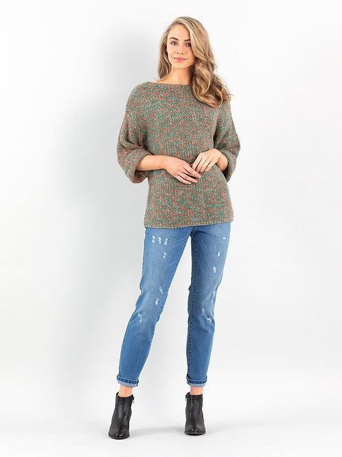 Marco Polo / Mixed Stitch Sweater