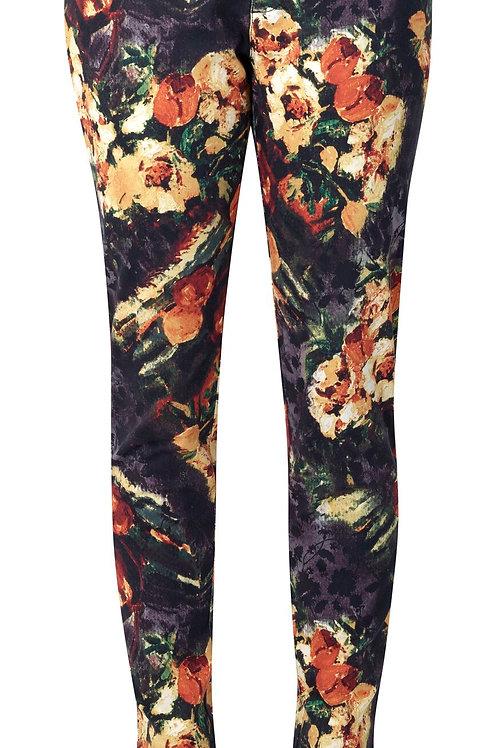 Vassalli / Ankle Grazer Dress Pant with Split Cuff Libra