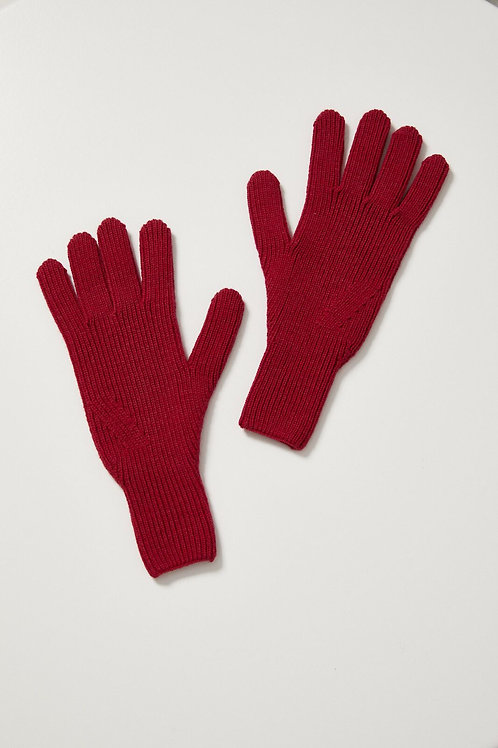 Toorallie / Merino Gloves / Waratah