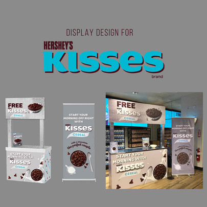 Display design for General Mills Hershey