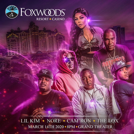 Concert Poster Design for Foxwoods Casino