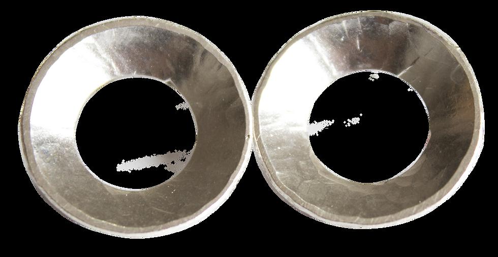 Aretes Nido de Plata