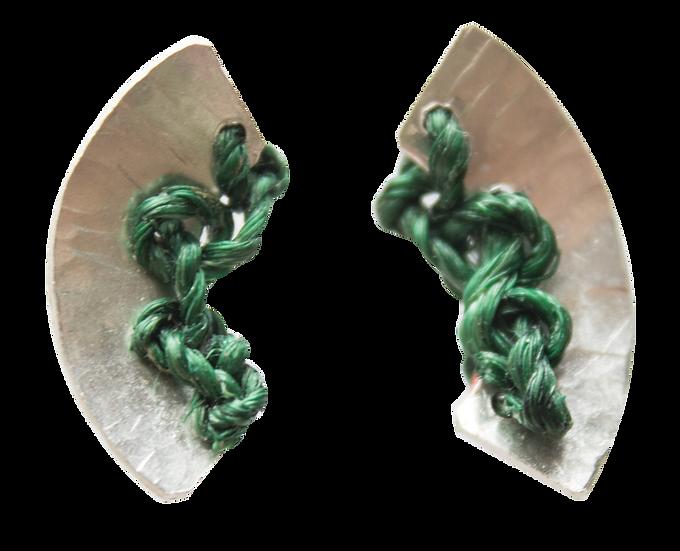 Tissue 1/3 Nest Earrings