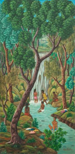 Latortue Fancklin 48X24 #43-3-96 Canvas