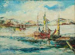 Viard Raoul 24X32 #2-3-96 Canvas Circa 1