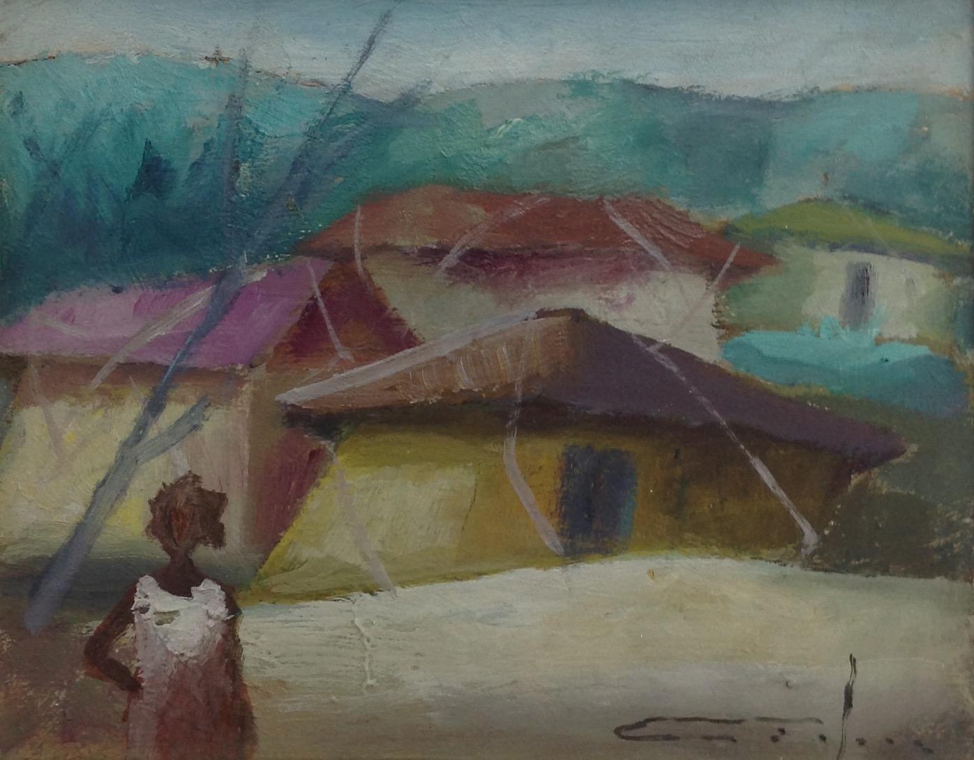 Dieudonne Cedor 8X10 #156-3-96 canvas 1979
