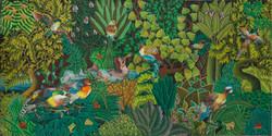 Marcelin Renold 24X48 #8-3-96 Canvas
