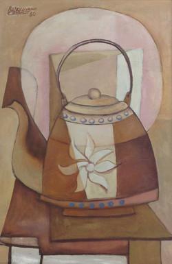 Desruisseau Rose Marie 16X24 #48-3-96 canvas 1980