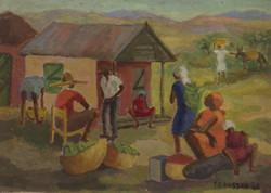 Baussan Tamara 10X14 #29-3-96 canvas 1980