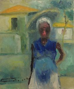 Dieudonne Cedor 10X12 #132-3-96 canvas
