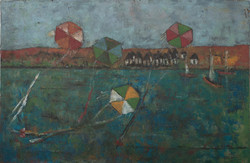 Jacques Harry 24X36 #42-3-96 Canvas 1975