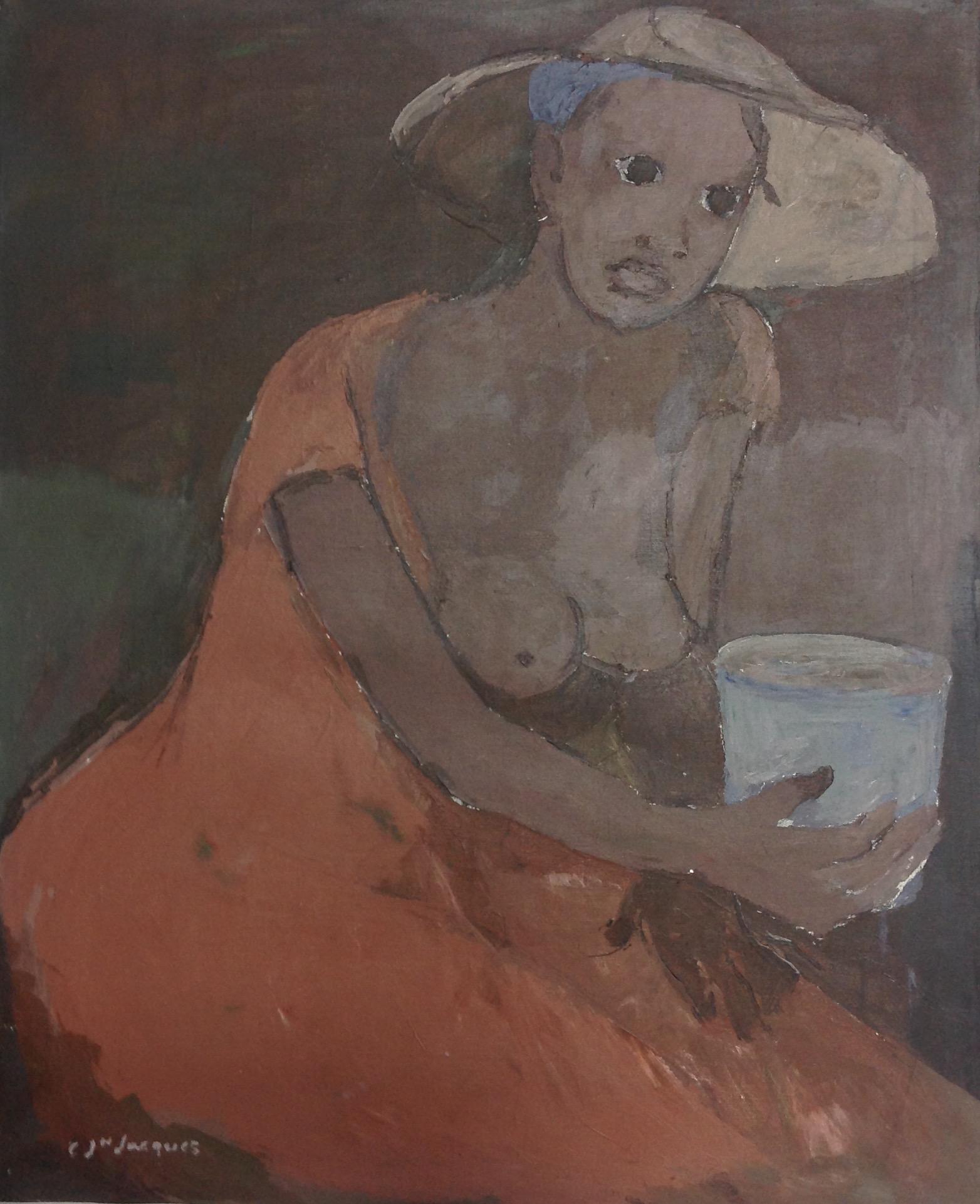 Jn Jacques Carlo 24X30 #9-2-95 canvas