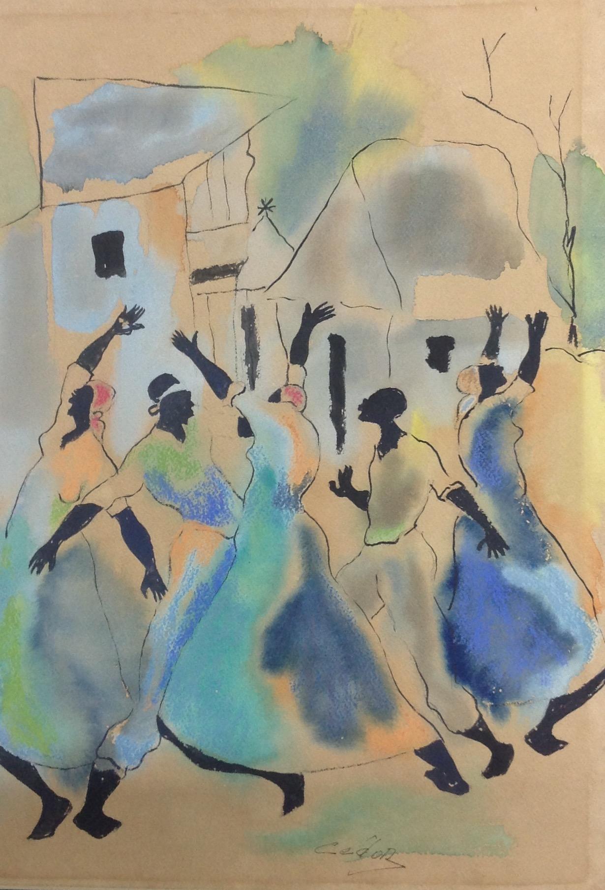 Dieudonne Cedor 10X14 #202-3-96 dessin
