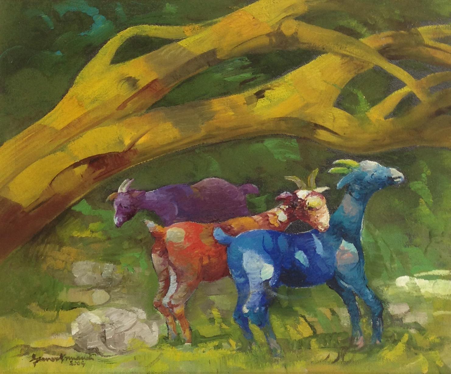 Armand Gesner 10X12 #50-3-96 canvas 2004